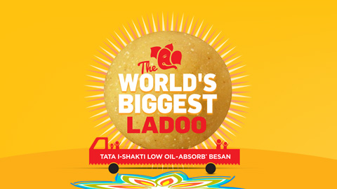 The Worlds Biggest Ladoo