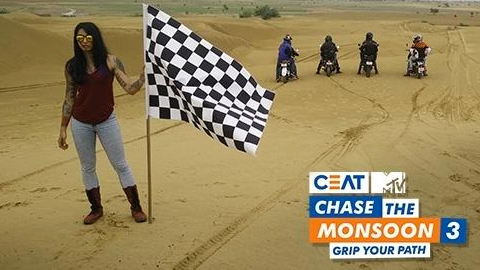 CEAT MTV Chase the Monsoon 3.0 – Grip your path
